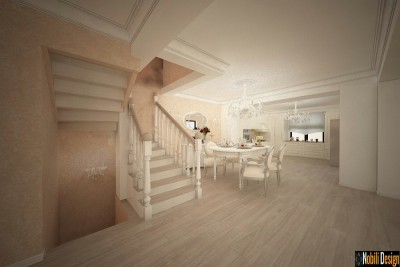 Design interior living open space casa Targoviste - Design interior case Targoviste
